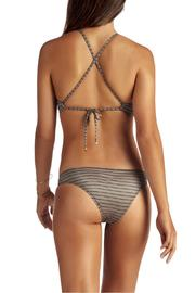 Vitamin A Cozumel High Neck Top - Front full body
