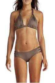 Vitamin A Emelia Triple Strap Bottom - Side cropped
