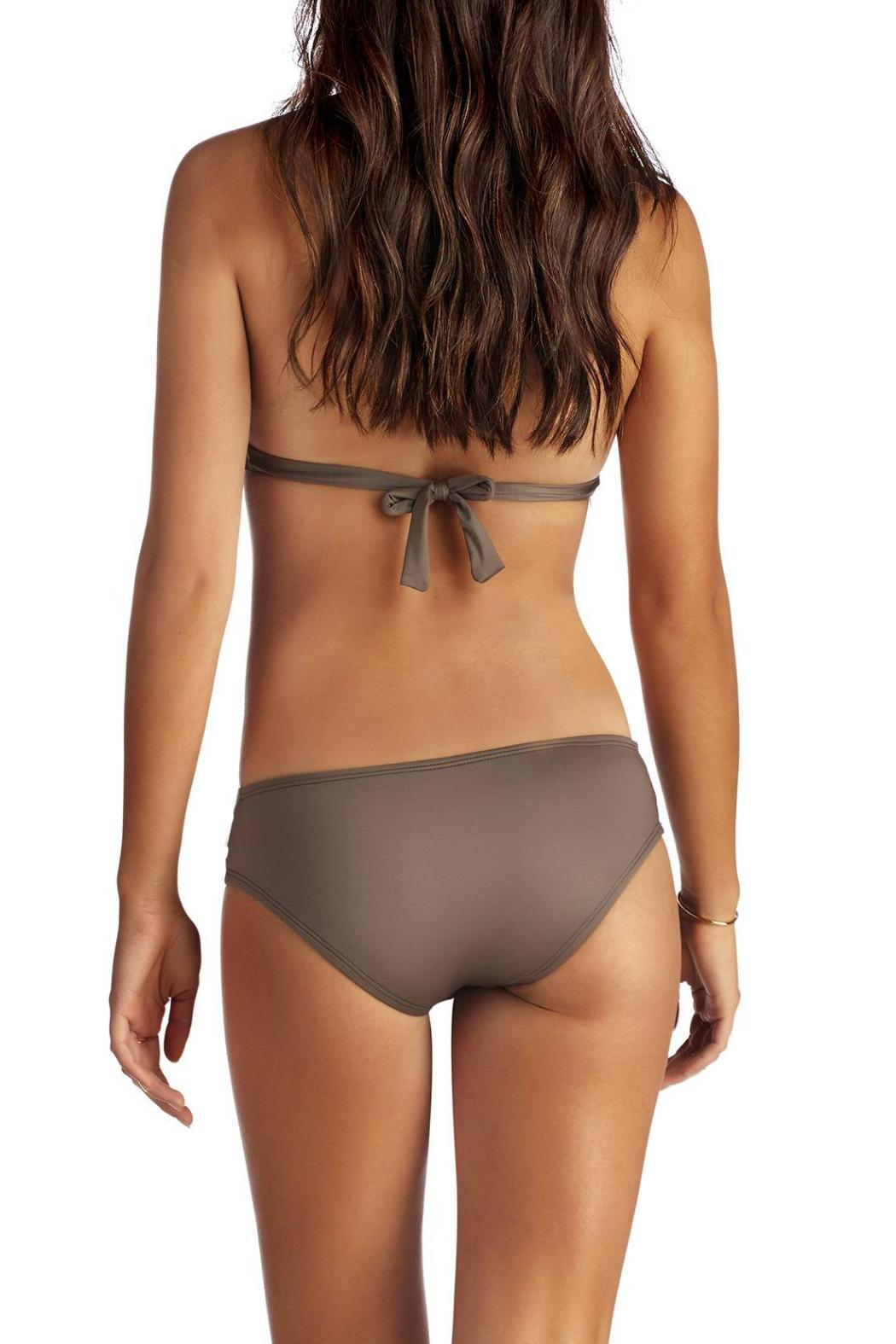Vitamin A Emelia Triple Strap Bottom - Back Cropped Image