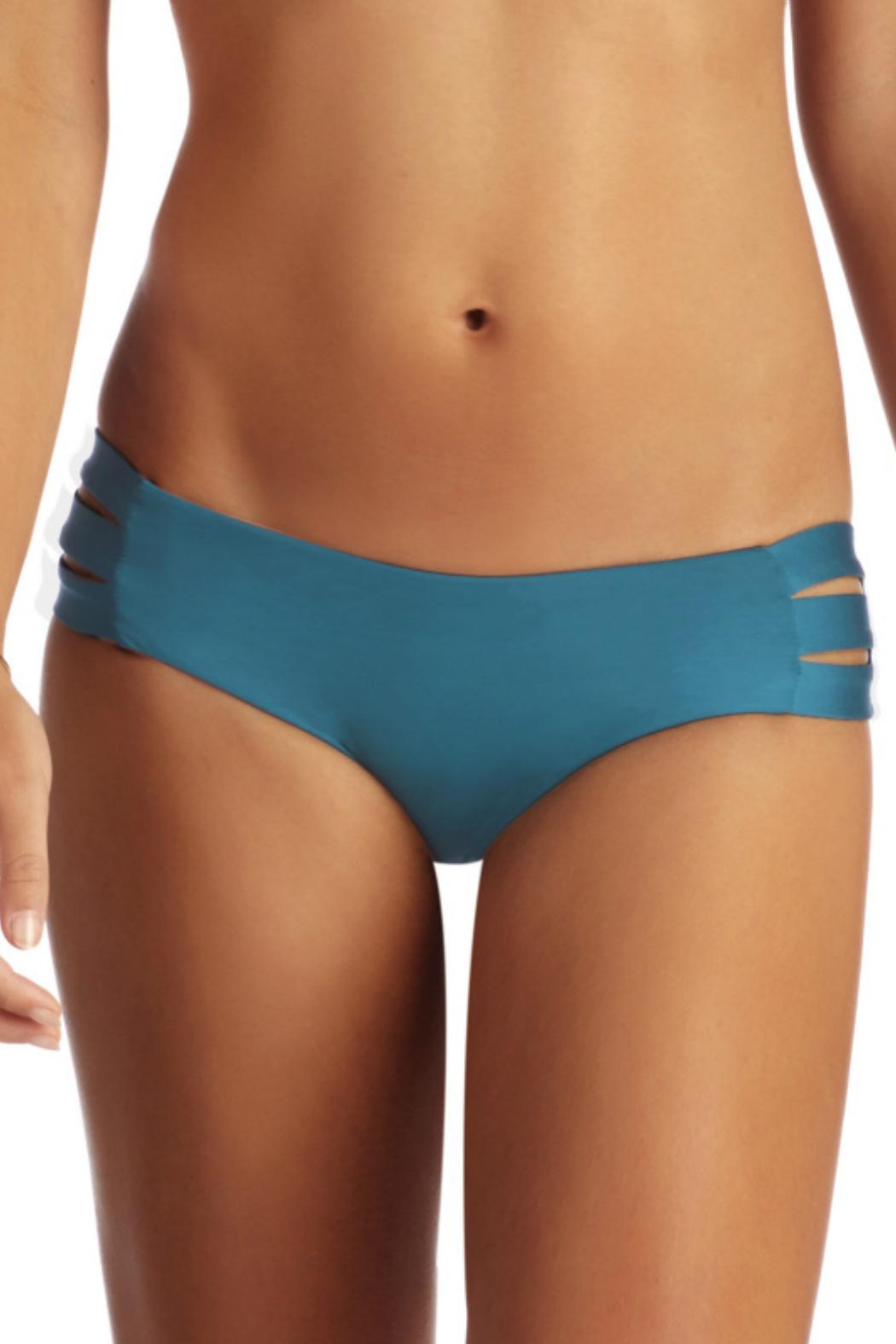 Vitamin A Emelia Triple Strap Bottom - Front Cropped Image