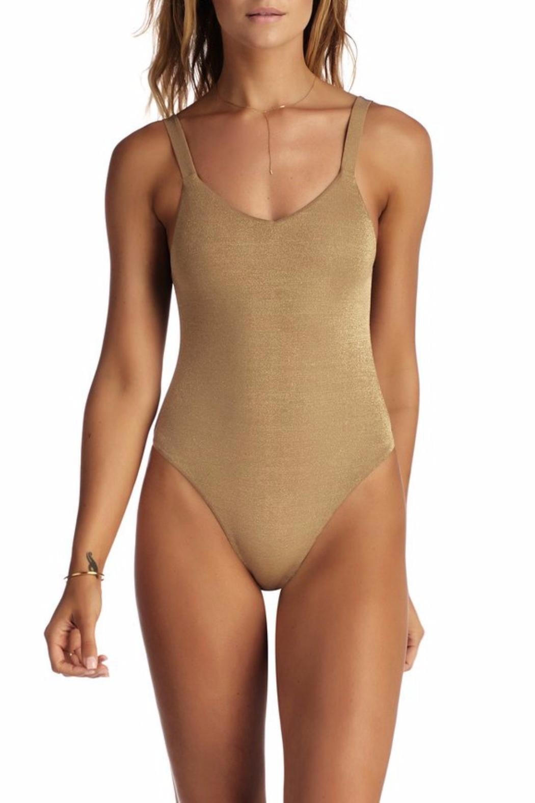 Vitamin A Leah Bodysuit - Front Cropped Image