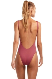 Vitamin A Leah Bodysuit Havana-Rose - Front full body