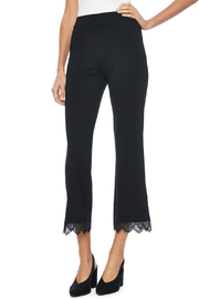 Lyssé Viti Lace hem pull-on pant - Product Mini Image