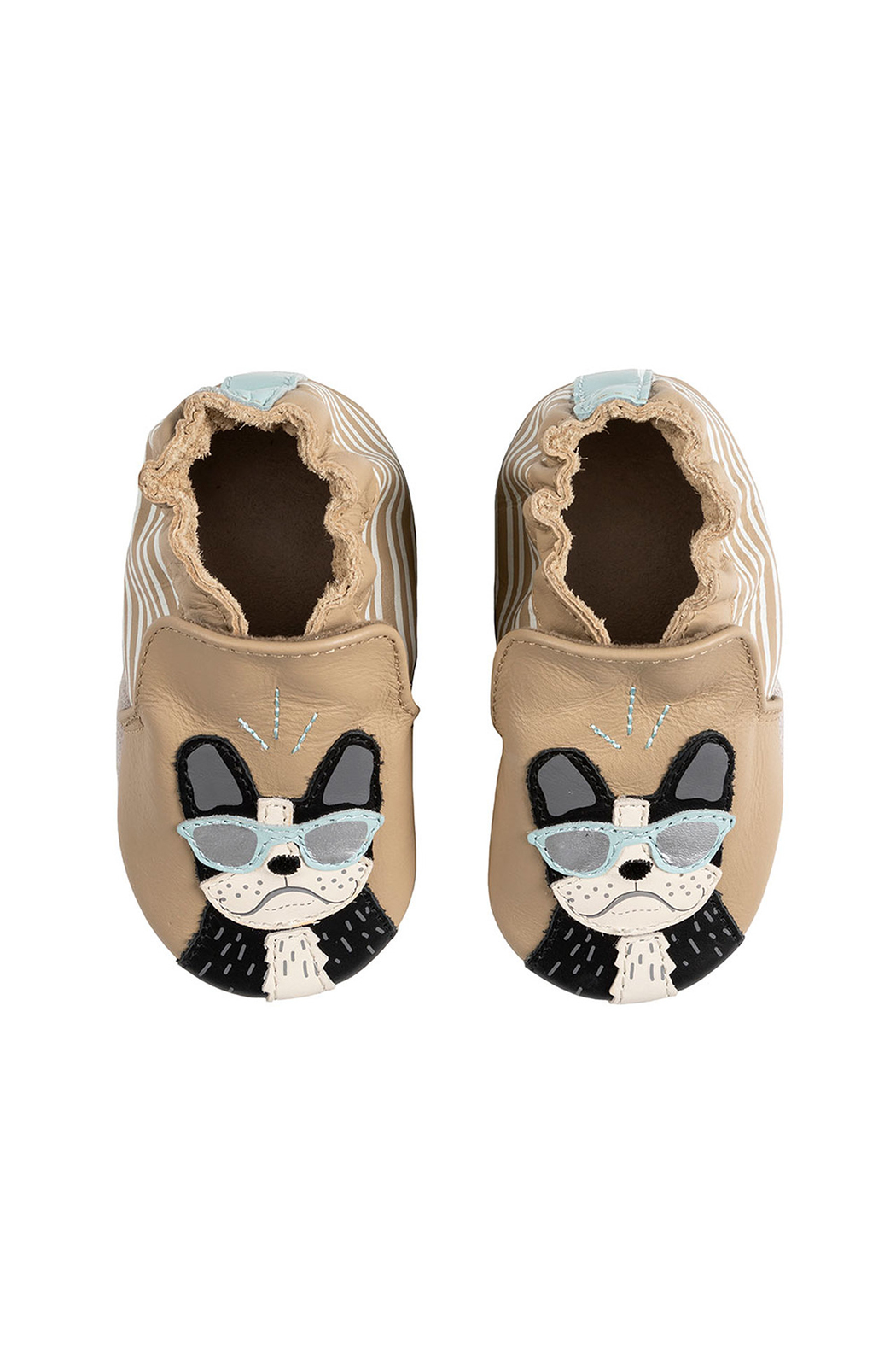 Robeez Vitto Soft Soles Baby Shoes - Side Cropped Image