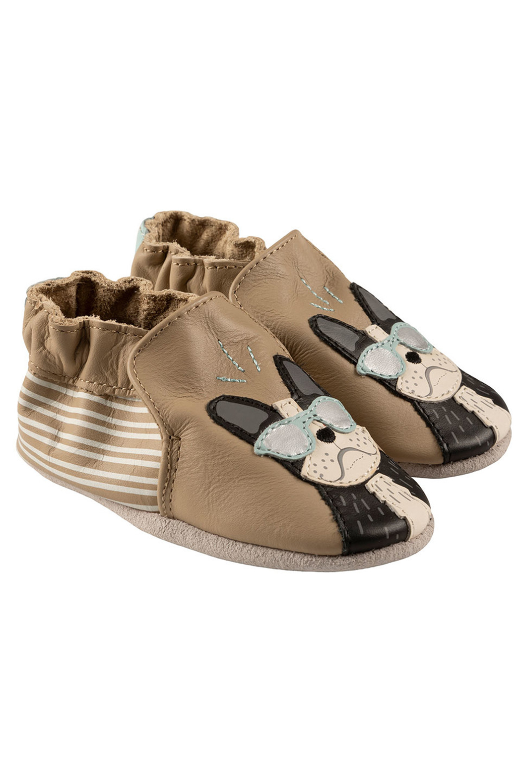 Robeez Vitto Soft Soles Baby Shoes - Front Cropped Image