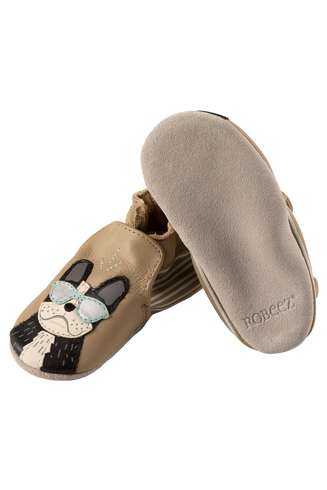 Robeez Vitto Soft Soles Baby Shoes - Main Image