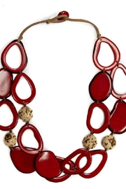 Organic Tagua Jewelry Vittoria Organic Necklace - Product Mini Image