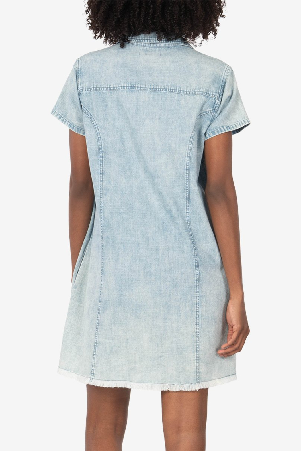 Kut from the Kloth Vittoria Shirt Dress - Side Cropped Image