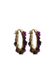 viv&ingrid Daisy Hoop Earrings - Product Mini Image