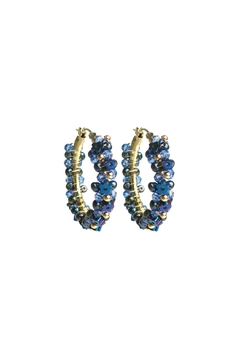 Shoptiques Product: Hydrangea Garland Hoops