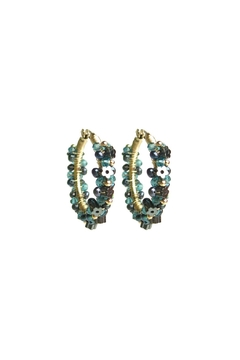 Shoptiques Product: Moss Garland Hoops