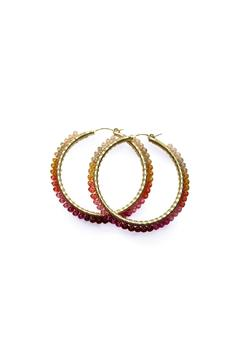 viv&ingrid Ombre Wrap Hoops - Alternate List Image