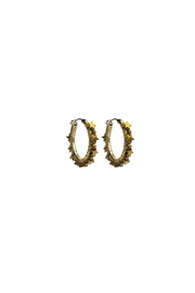viv&ingrid Star Hoop Earrings - Product Mini Image
