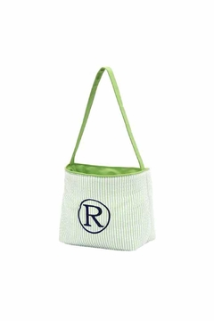 Shoptiques Product: Monogrammed Easter Basket