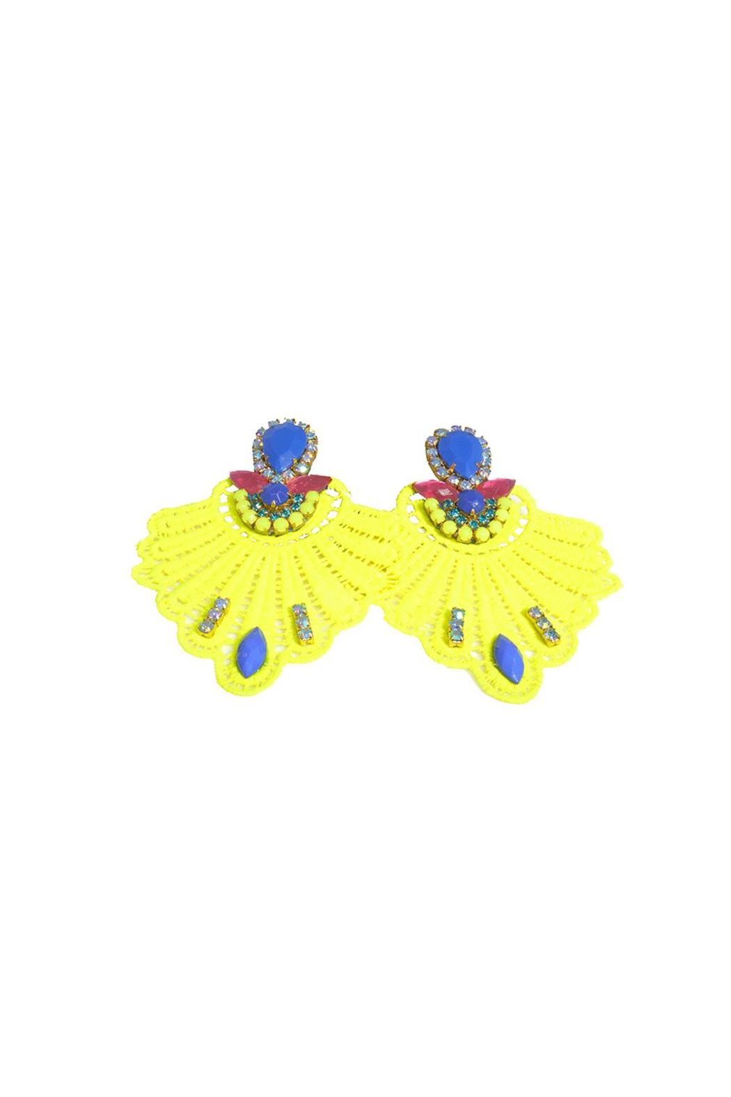 vivi design Lightweight Lace Earrings - Main Image