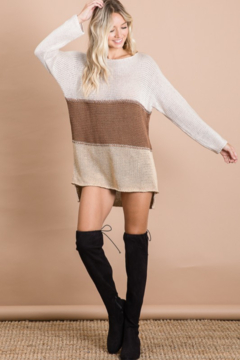 Shoptiques Product: Vivian Color Block Sweater