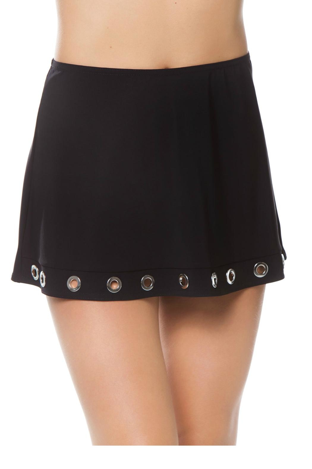 Karla Colletto Viviana a-Line Skirt - Front Cropped Image