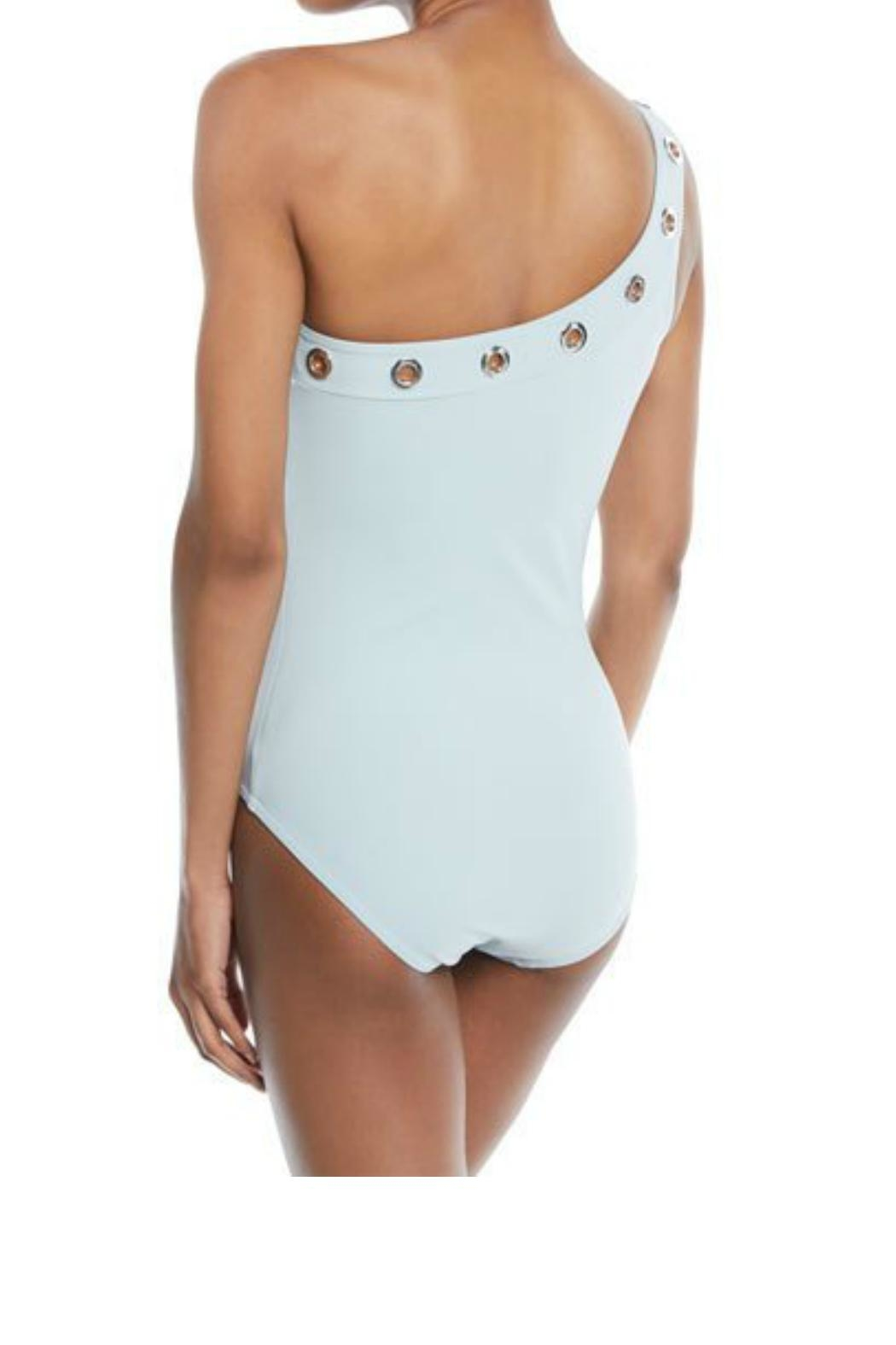 Karla Colletto Viviana Shoulder One-Piece - Front Full Image
