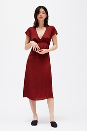 LACAUSA Vivien Satin Dress - Product Mini Image