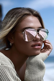 Quay Australia Vivienne Aviator Sunglasses - Product Mini Image