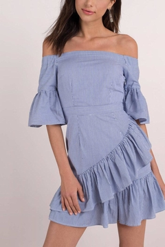 lucca couture Vivienne Off-Shoulder Dress - Product List Image