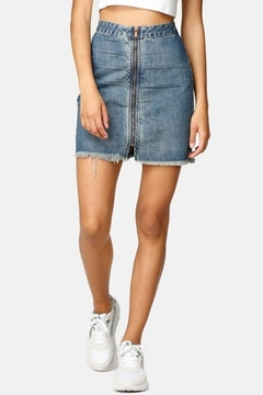 One Teaspoon Vixen Denim Skirt - Alternate List Image