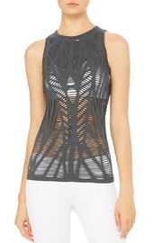 ALO Yoga Vixen Fitted Tank - Product Mini Image