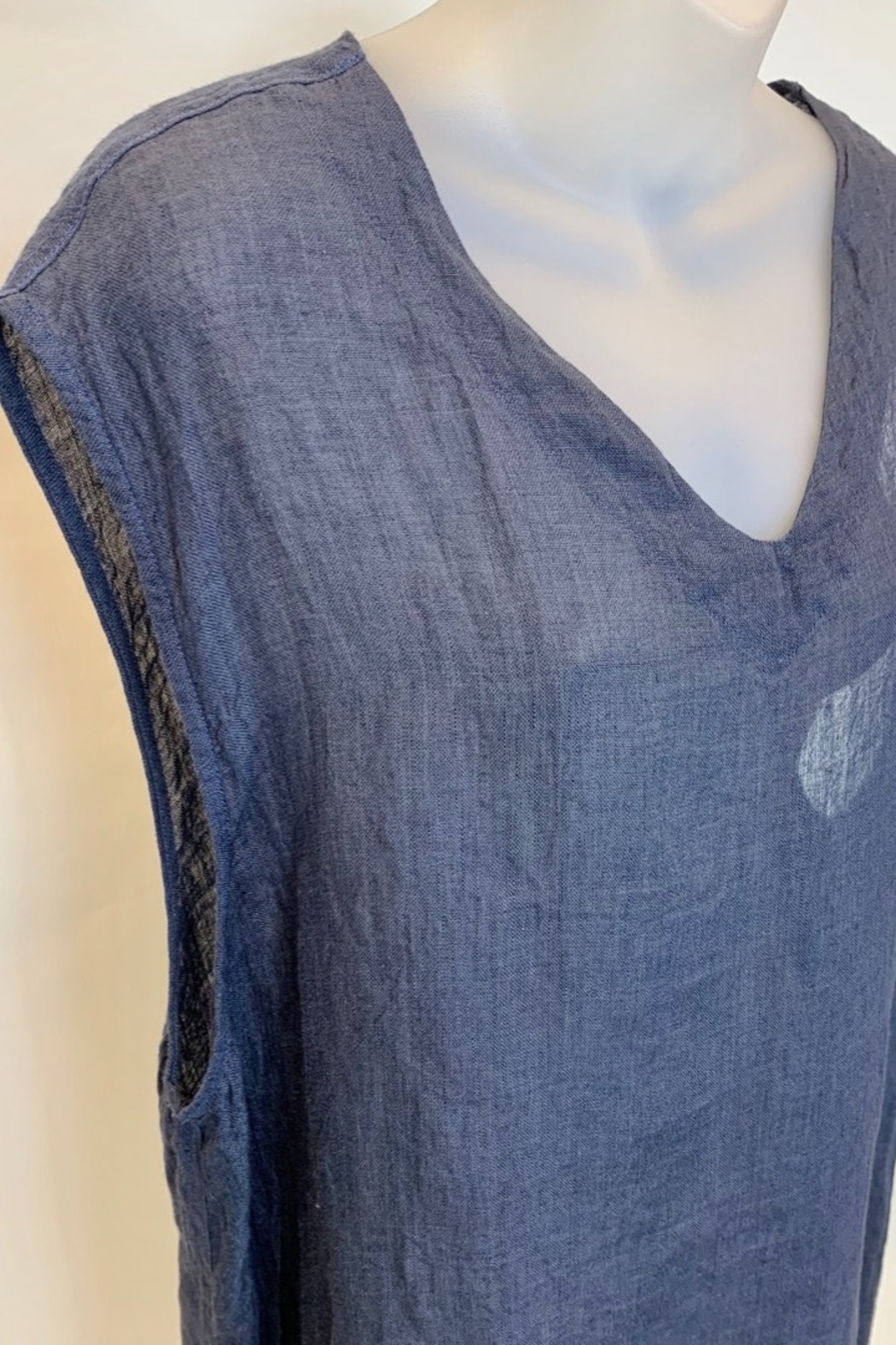 Match Point VNECK TUNIC - Front Full Image