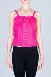 virgin only VO Denim Bustier - Product Mini Image