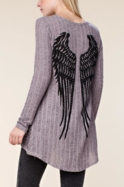 Vocal Angel Ribbed Top - Product Mini Image
