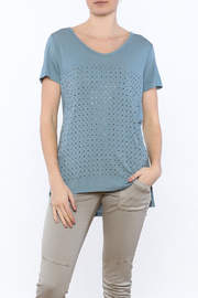 Vocal Teal Tunic Top - Product Mini Image