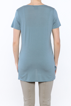 Vocal Teal Tunic Top - Alternate List Image