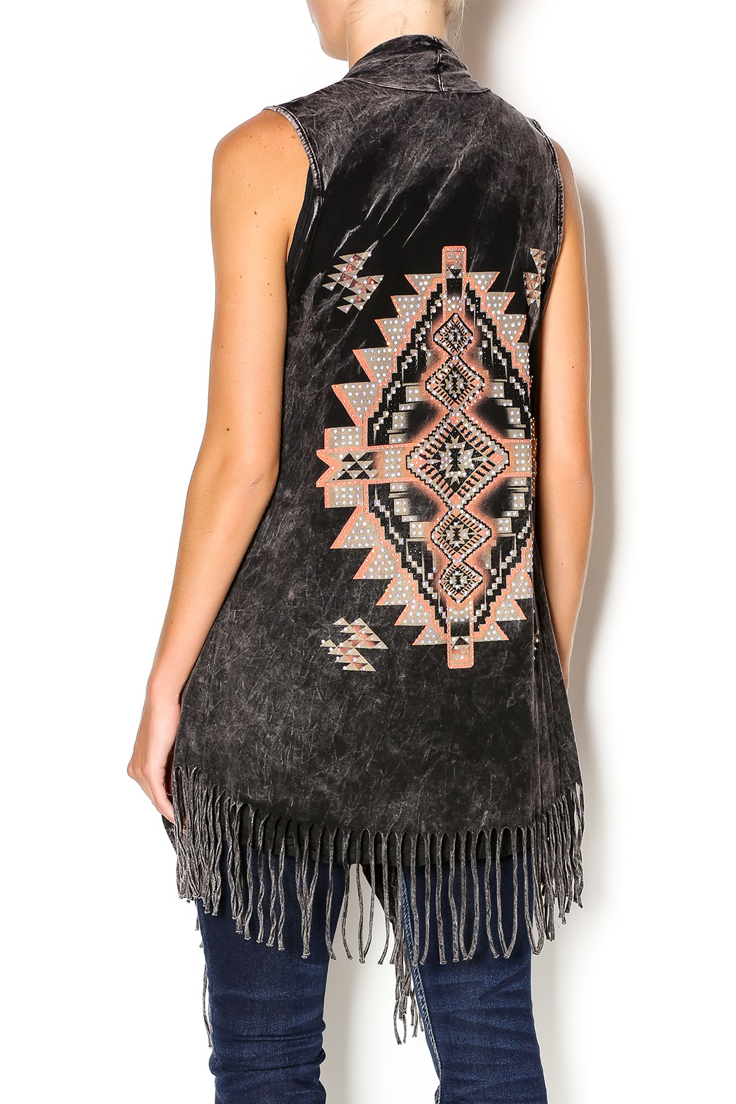 Vest Fashion Fringe