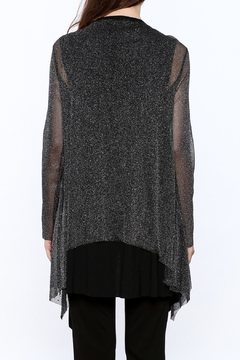 Vocal Sheer Shimmery Cardigan - Alternate List Image