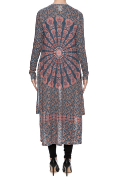 Shoptiques Product: Printed Knit Duster