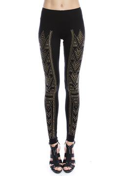 Vocal Stone Detail Leggings - Product List Image