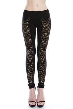 Vocal Stud Detail Leggings - Product List Image