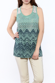 Vocal Suede Tank Top - Product Mini Image