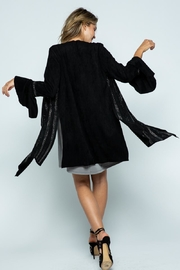 Vocal Apparel Bell Sleeve Jacket With Stones - Front full body
