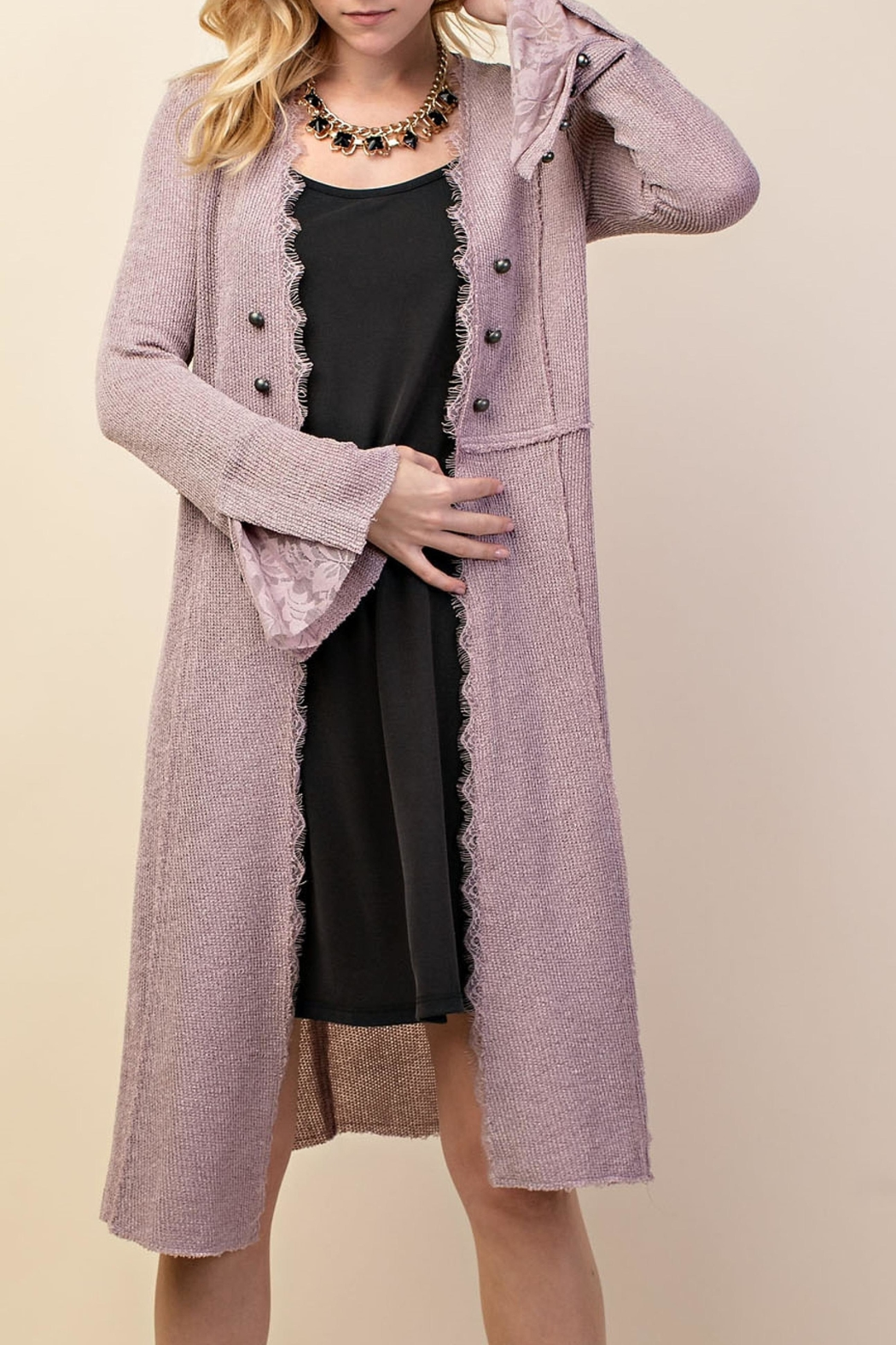 Vocal Apparel British Button Duster - Front Full Image