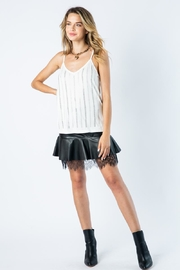 Vocal Apparel Camisole Top With Stones - Back cropped