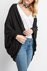 Vocal Apparel Cocoon Cardigan Eagle-Stones - Side cropped