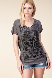 Vocal Apparel Dolman Laser-Cut Top - Product Mini Image