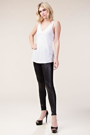 Vocal Apparel Faux Leather Leggings - Other