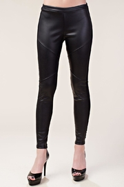 Vocal Apparel Faux Leather Leggings - Product Mini Image