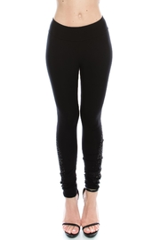 Vocal Apparel Knit Leggings With Stones - Product Mini Image
