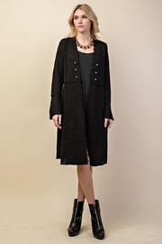 Vocal Apparel Knit Long Jacket - Product Mini Image