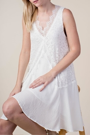 Vocal Apparel Lace Mix-Media Dress - Other