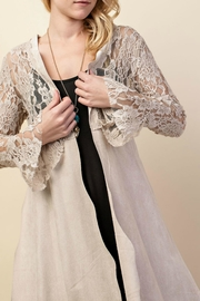 Vocal Apparel Lacey Suede Duster - Other