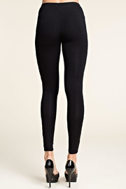 Vocal Apparel Leggings With Lace Panels - Side cropped
